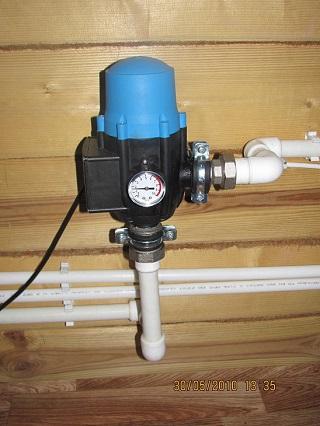 блок автоматики для системы водоснабжения