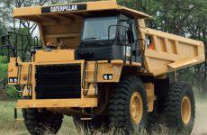 Caterpillar начал производство карьерных самосвалов в Тосно
