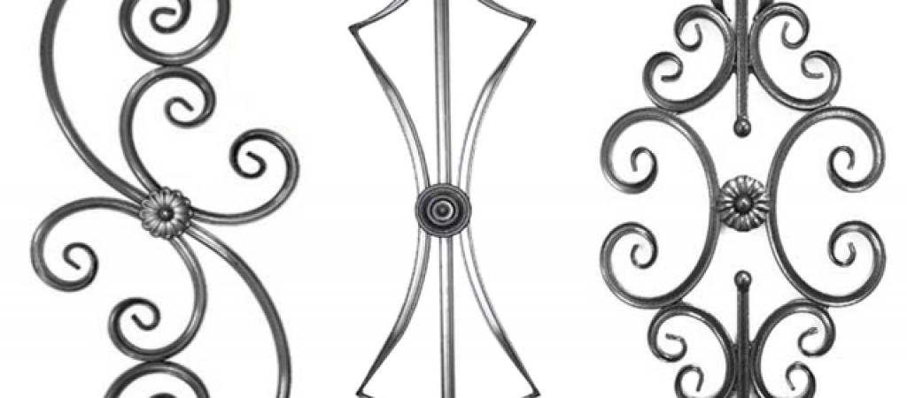 Разновидности кованых элементов