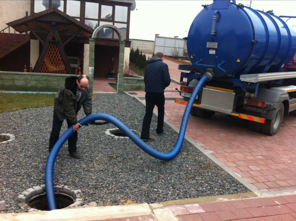 Особенности откачки канализации