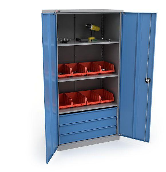 Преимущества металлических шкафов