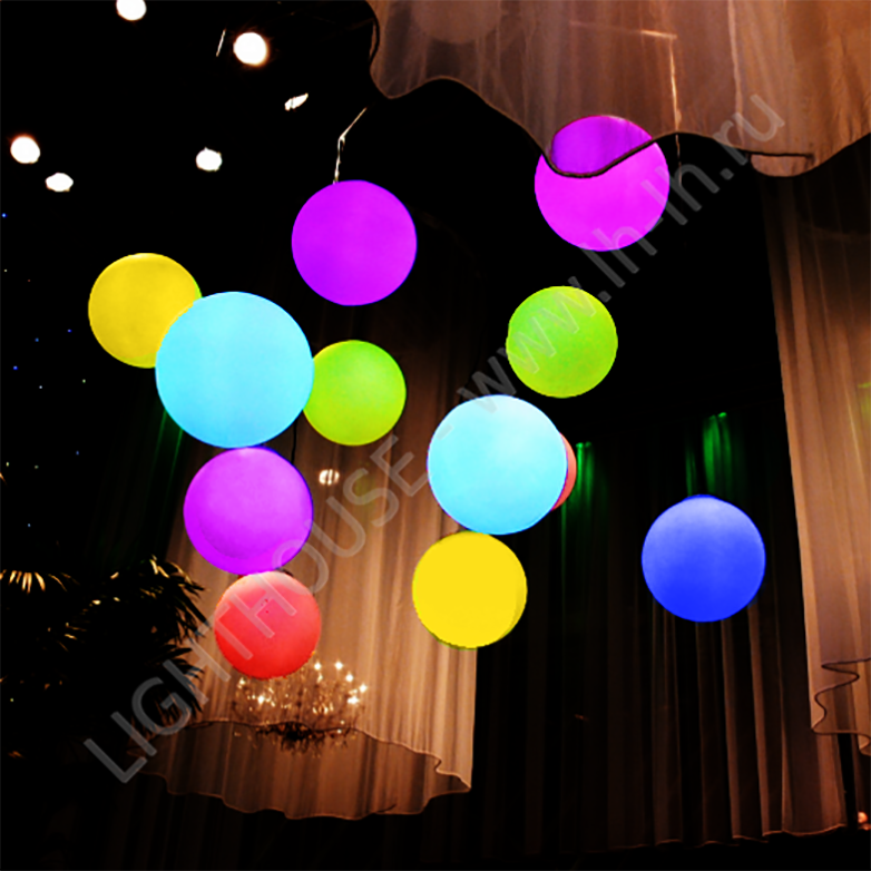Зачем нужны светодиодные шары для дома?