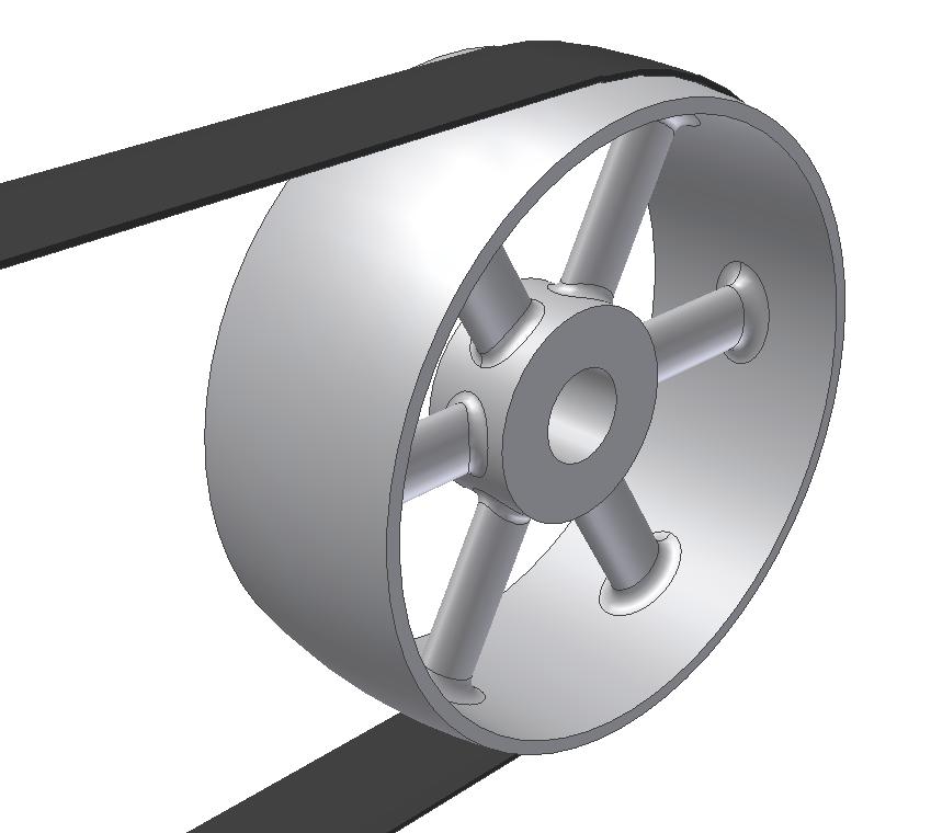 Классификация, конструкция и назначение ременного шкива
